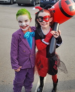 Joker and Harley Quinn Costume for Kids