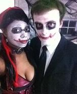 Couples Joker and Harley Quinn Costume