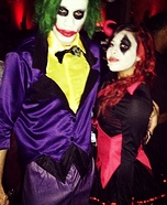 Joker and Harley Quinn Couple Homemade Costume