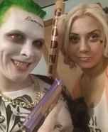 Suicide Squad Joker and Harley Quinn Couple Costume