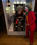 Joker and Harley's Electric Chair Homemade Costume