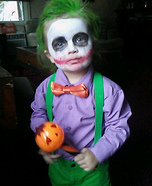 Joker Baby Homemade Costume