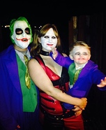 Joker Family Homemade Costume