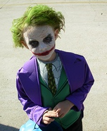 Homemade Joker Costume