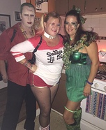 Joker, Harley Quinn & Poison Ivy Homemade Costume