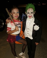 Joker & Harley Homemade Costume