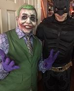 Joker Ventriloquist Doll Homemade Costume
