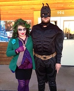 Joker vs. Batman Homemade Costume
