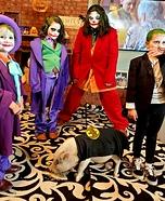 Jokers and Batman Homemade Costume