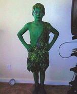 Jolly Green Giant Homemade Costume