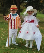 Jolly Holiday Mary Poppins & Bert Homemade Costumes