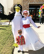 Jolly Holiday with Mary Poppins & Bert Homemade Costume