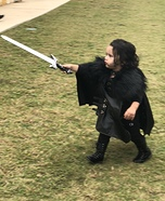 Jon Snow Homemade Costume