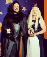 Jon Snow and Daenerys Targaryen Homemade Costume