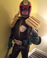 Judge Dredd Homemade Costume