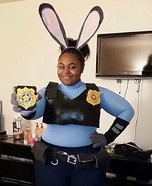 Judy Hopps Homemade Costume