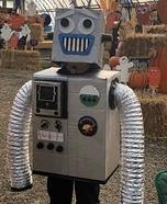 Julianbot 1.0 Robot Homemade Costume