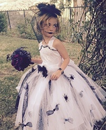 Junior Bride of Frankenstein Homemade Costume