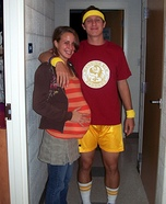 Pregnant couples costume ideas - Juno and Bleeker Halloween Costumes