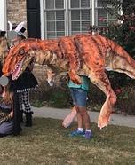 Jurassic Park Inspired Velociraptor Homemade Costume