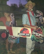 Jurassic Park Tourists Homemade Costume