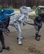 Jurassic World Dinosaurs Homemade Costume