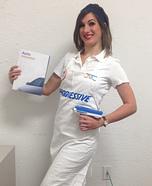 Progressive Insurance Flo Costume