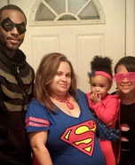 Justice League Family Homemade Costume