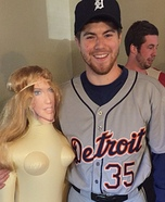 Justin Verlander and Kate Upton Homemade Costume