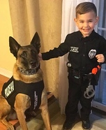 K-9 Unit Police Homemade Costume
