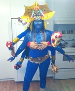 Kali Goddess of Death Homemade Costume
