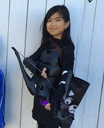 Katniss Catching Fire Homemade Costume