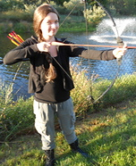 Homemade Katniss Everdeen Costume