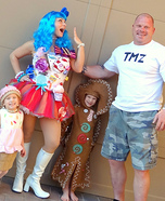 Katy Perry California Girls Video Costumes