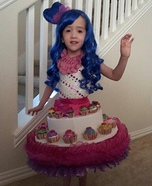 Katy Perry Cupcake Dress Costume for Girls