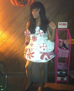 Katy Perry Spinning Peppermint Dress Costume