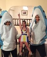 Katy Sharks Homemade Costume