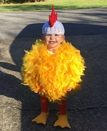 Keat the Chicken Homemade Costume