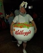 Kellogg's Apple Jacks Homemade Costume