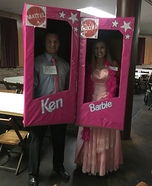 Ken & Barbie Homemade Costume