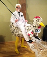 Kentucky Fried Homemade Costume