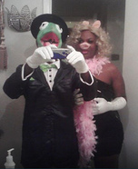 Kermit and Miss Piggy Couple Costume