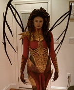 Homemade Queen of Blades Costume