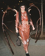Kerrigan Queen of Blades Homemade Costume