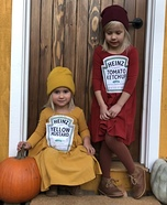 Ketchup and Mustard Homemade Costume