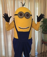 Kevin the Minion Homemade Costume