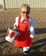 KFC Colonel Sanders Toddler Costume