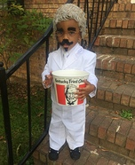 KFC Kids Homemade Costume