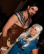 Khal Drogo and Khaleesi Homemade Costume