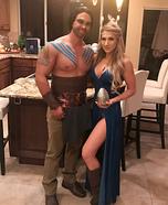 Khaleesi and Khal Drogo Homemade Costume